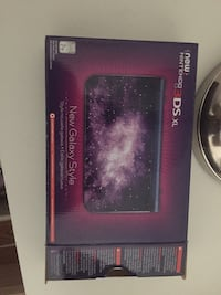 black and purple Nintendo DS null