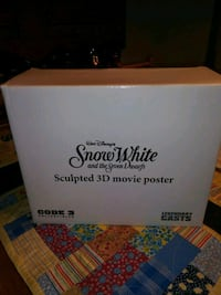 Snow white sculpted 3D movie poter Nashville, 89104