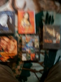 two assorted DVD movie cases Las Vegas, 89119