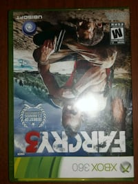 FARCRY 3 for xbox360! Basically brand new Kelowna