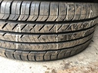 4 good year used tires, $220 if you want installation and wheel balancing.size 215/45/18 Fairfax, 22030