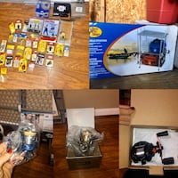 Fishing gear brand new in packaging also fishing shelf new in box