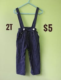 2T Stylish Overalls in Excellent Condition