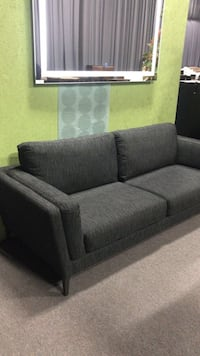 gray fabric 2-seat sofa Toronto, M9V 2V2