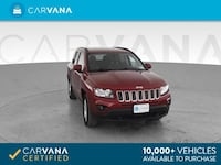 2017 Jeep Compass suv Latitude Sport Utility 4D RED Brentwood, 37027