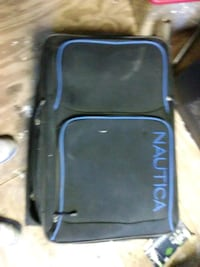 blue and black Nautica softside luggage Lubbock, 79414