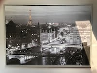 Framed Canvas Paris Picture  LaSalle, N9H 2J7