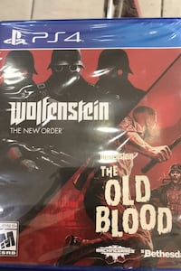 Ps4 oyun sıfır 2 oyun new order + old blood