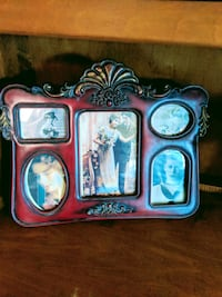WOOD ANTIQUE PICTURE FRAME