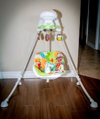 Fisher-Price Woodland Friends Cradle 'N Swing Adjustable Baby Bouncer  Mississauga, L5G 4K7