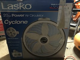 "Lasko 20"" floor fan"