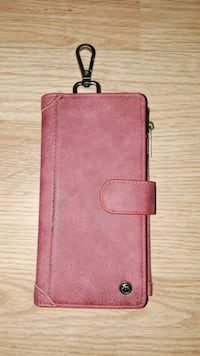 pink leather smartphone flip case Douglasville, 30135