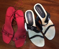 Two new pairs of shoes $10 each Langley, V3A 1V9