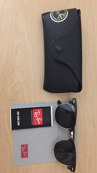 black framed Ray Ban sunglasses with case Berkeley, 94704