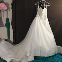 """Women's white wedding dress a exclusive Bridal's """"by ACE"""" Portland, 97229"""