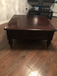 Living room table wood