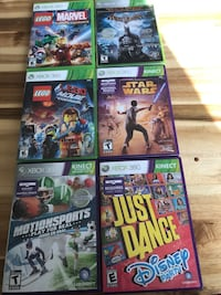 assorted Xbox 360 game cases Saanich, V8Y 2V2