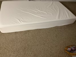 Memory foam mattress twin size