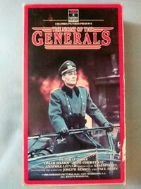 The Night of the Generals vhs Baltimore