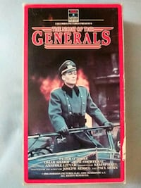 The Night of the Generals vhs