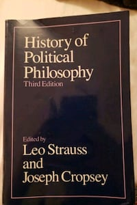 History of political philosophy Strauss
