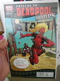 Prelude to deadpool corps.  Mississauga, L5H 3W6
