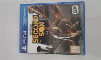 Ps 4 sıfır:infomous second son