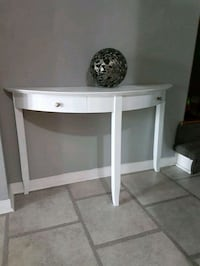 white wooden double drawer side console table New Tecumseth, L0G 1W0