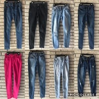 All for 30! Juniors jeans SIZE 0 Corpus Christi, 78415