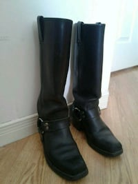 Knee high harness, Frye boots, size 6 Mississauga, L5N