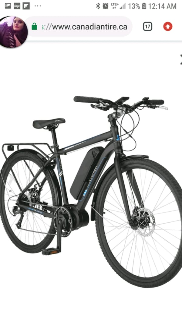Junction rapid e  700c ebike 1300  i paid 1800 and rode for 3 hrs 6f25086d-a564-4808-ad31-a5a92abf46c5