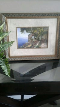 2 beautiful framed & matted pictures Kitchener, N2E
