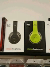 yellow and black Beats Solo 3 wireless headphones boxes Montréal, H1H 4T6