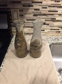 2 Glass Containers 96 mi