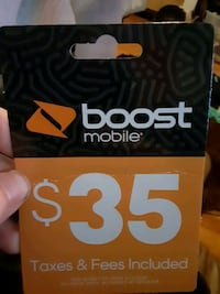 $35 Boost Mobile  Great Mills, 20634