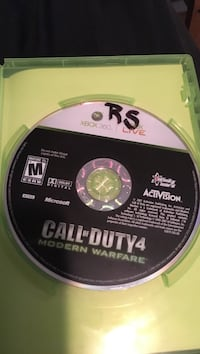 Call of duty modern warfare 4 Xbox 360 game
