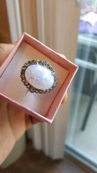 silver and diamond ring with box Austin, 78704