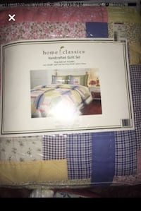 Handcrafted King Quilt Set BRAND NEW Bowie, 20715