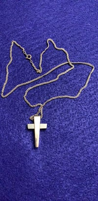 Stainless steel  cross pendant REVERE