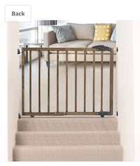 New, unused....  Dreambaby Nottingham 2-In-1 Gro-Gate, Driftwood (27.25-Inch-41-Inch) (Gate Height 29-Inch) St Thomas, N5R 6M6