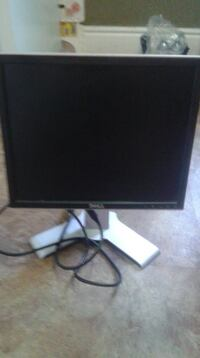 black Dell flat screen computer monitor Barrie