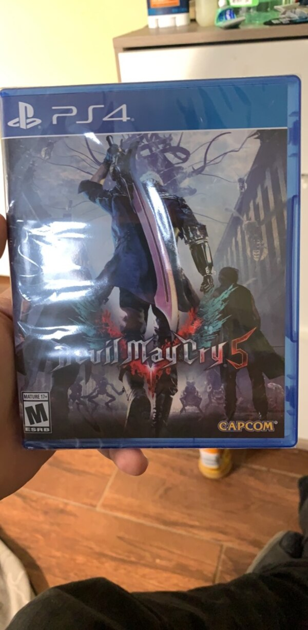 Brand New Devil May Cry 5 for PS4