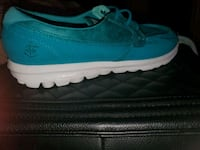 pair of blue-and-white low top sneakers Las Vegas, 89119