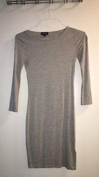 Top shop long sleeved dress in heather grey Toronto, M5E 0A4