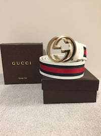 Green/Red Gucci Belt Mississauga, L5B