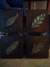 Metal defirent Leafy design. wall decors Kelowna, V1X 7Z6