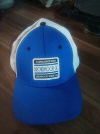 Broadmoor GC Blue and white (L) hat. Edmonton, T5A 0Z8