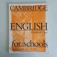Cambridge English for Schools - Workbook Volano, 38060