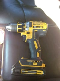 yellow and black DeWalt cordless power drill Sacramento, 95824