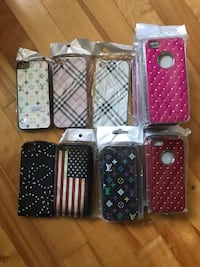 New 20 CASES iphone 5, 5s, SE LOT 10$ Montréal, H1T 3T2